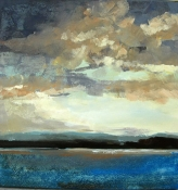 Wolkenstimmung II, Acryl/L