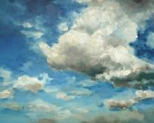 Wolken II, Öl/L