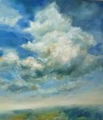 Der Wolkenläufer, Öl/L