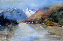 Zell am See, Aquarell