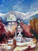 Innsbruck, Aquarell