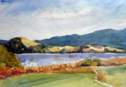 Wallersee, Aquarell